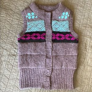 FREE PEOPLE Wool Blend/Quilted Vest
